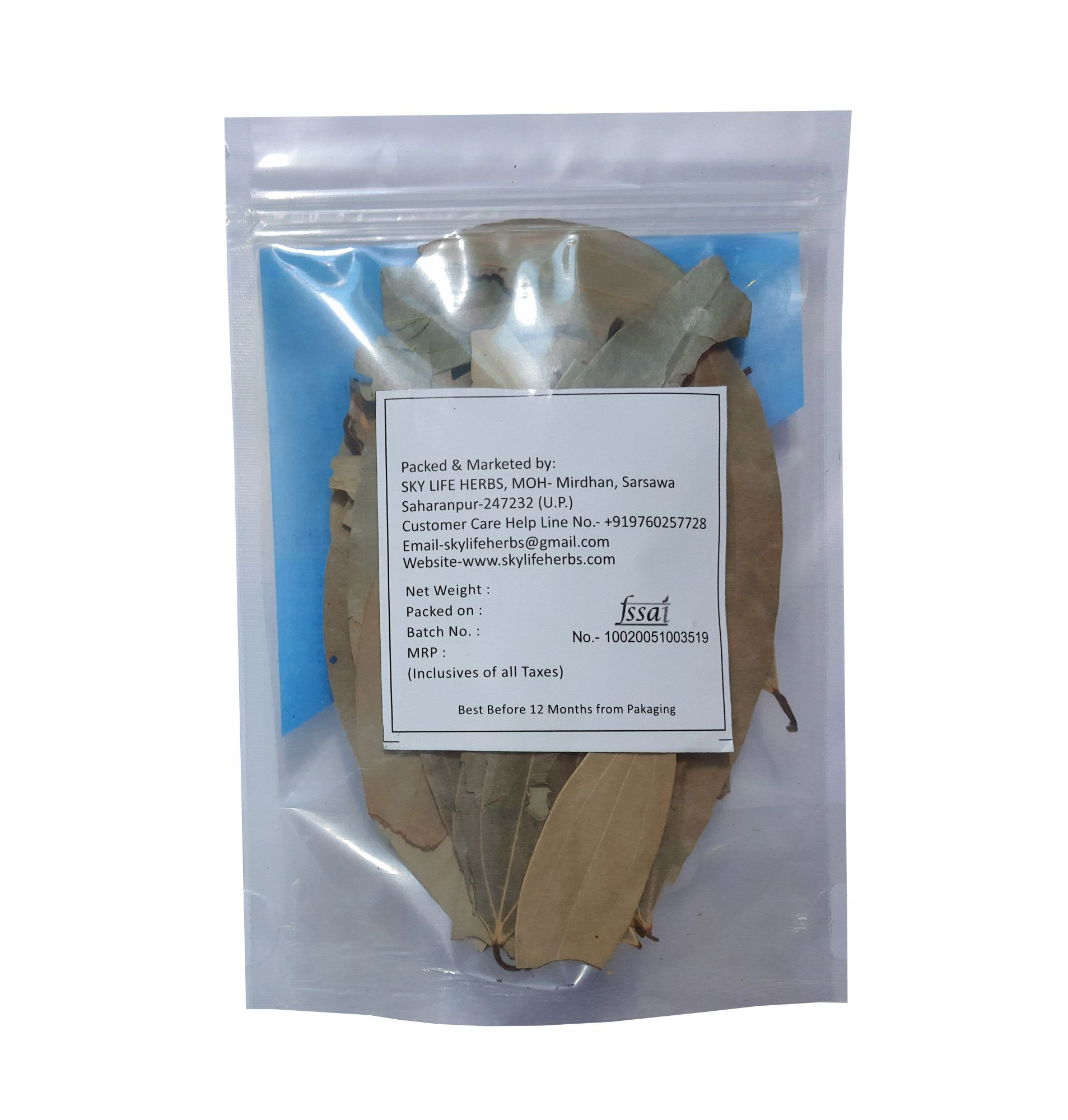 Tej Pata - Bay Leaf - Whole bay Leaf - Bay Leaves